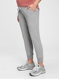 Maternity Brushed Jersey Under-Belly Joggers