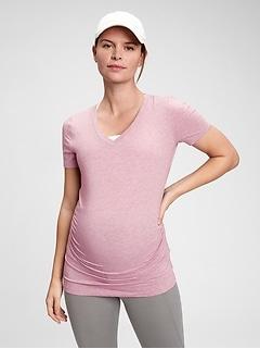 Maternity GapFit Breathe V-Neck T-Shirt