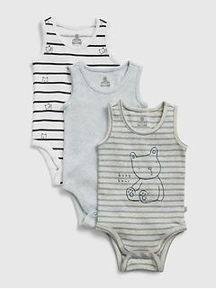 Baby Brannan Bear Bodysuit (3-Pack)