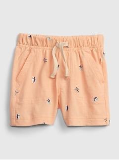 Shorts à enfiler en coton biologique Agencez à volonté pour Bébé
