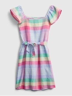 Kids Plaid Dress