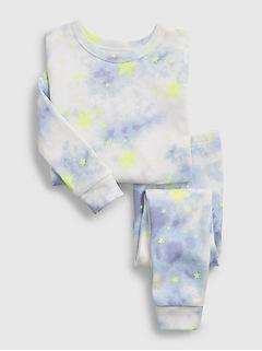 babyGap 100% Organic Cotton Star Tie-Dye PJ Set