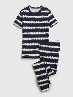 Kids 100% Organic Cotton Tie-Dye PJ Set