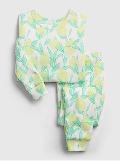 babyGap 100% Organic Cotton Lemon PJ Set