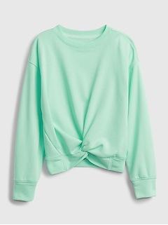 Kids Twist Crewneck Sweatshirt