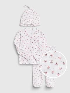 Tenue kimono à imprimé pour bébé