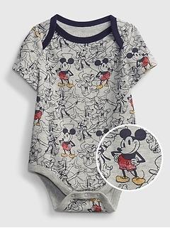 babyGap | Disney Mickey Mouse 100% Organic Cotton Mix and Match Bodysuit