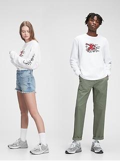 Keith Haring Graphic T-Shirt