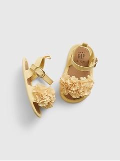 Sandales à fleurs 3D pour Bébé
