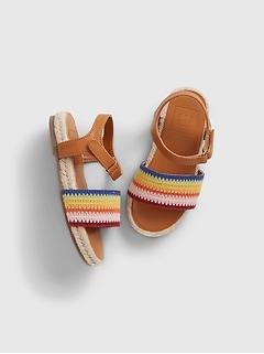 Toddler Rainbow Sandals