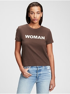 International Womens Day Cropped Graphic T-Shirt