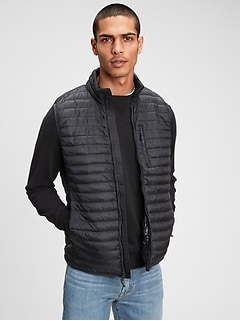 Upcycled Lightweight Puffer Vest