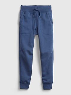 Pantalon d'entraînement décontracté à enfiler pour enfant