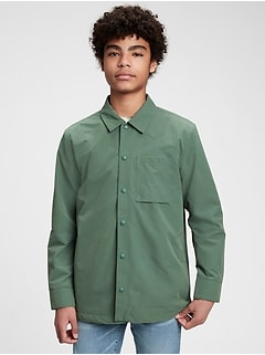 Veste-chemise recyclée pour Adolescent