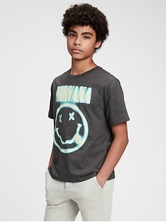 Teen | Band Nirvana Recycled T-Shirt