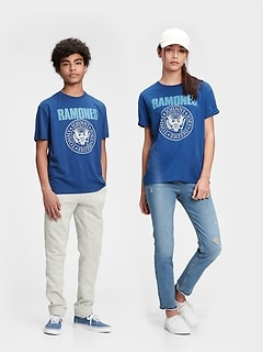 Teen | Ramones Graphic Recycled Polyester T-Shirt