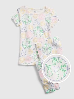 Kids 100% Organic Cotton Earth PJ Set