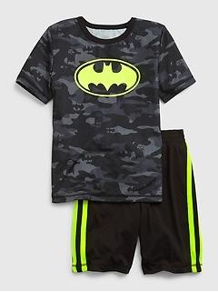 Pyjama en tissu recyclé à motif Batman DC™ phosphorescent | GapKids