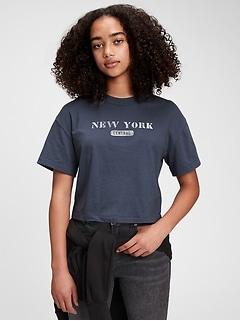 Teen Graphic Boxy T-Shirt