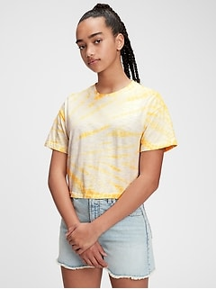 Teen 100% Organic Cotton Boxy T-Shirt