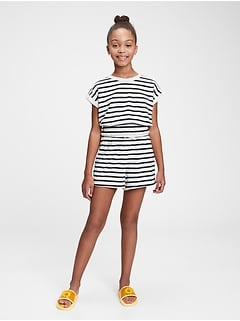 Kids Terry-Knit Pull-On Shorts