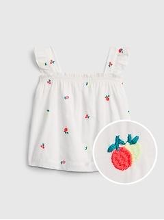 Toddler Flutter Smocked Top