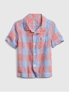 Toddler Linen Shirt