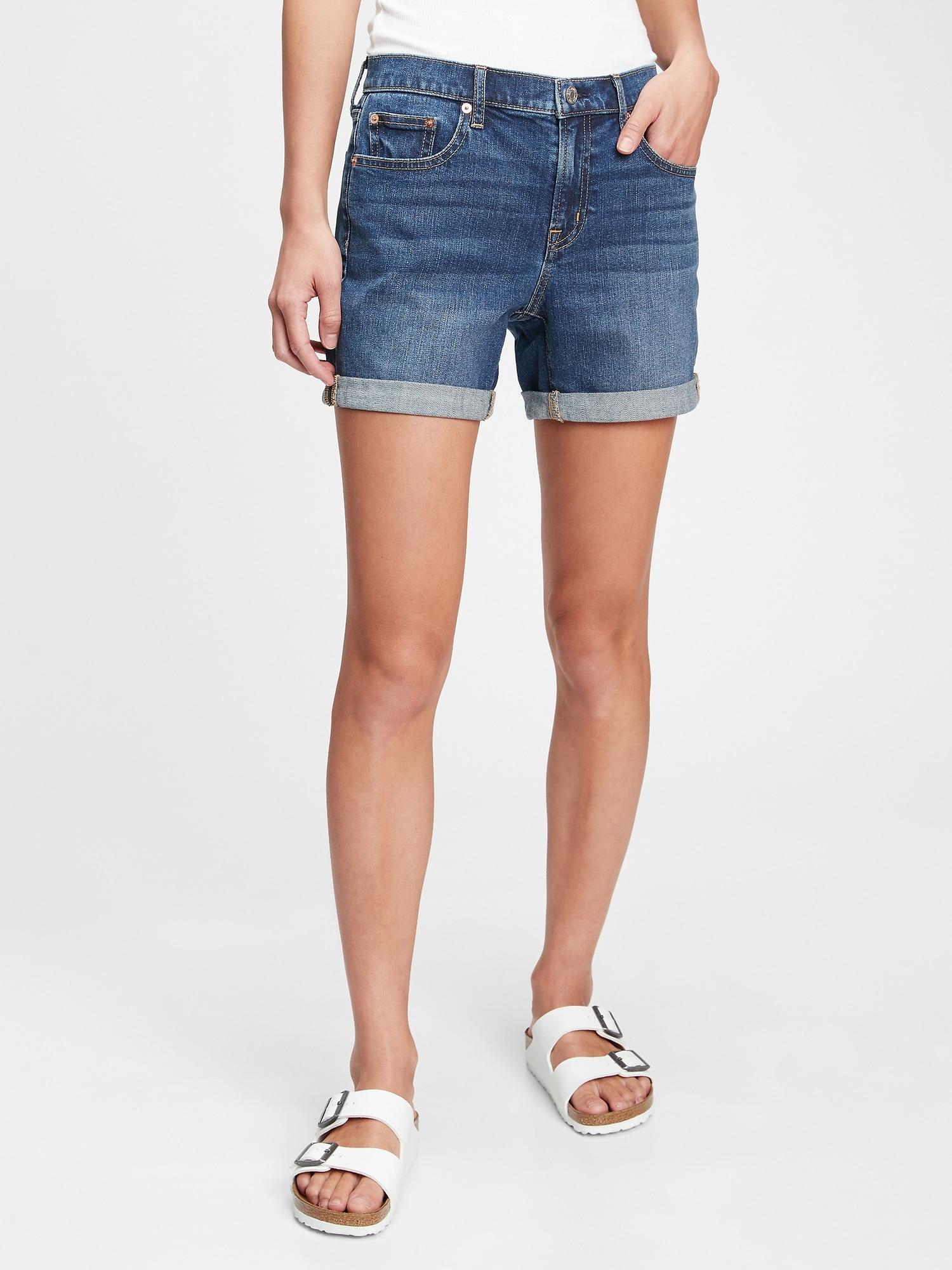 Multi Couleur Solide et autres à revers de jambe GAP Mini-short-femme taille 18.16.14.12.6