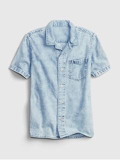 Kids Denim Shirt