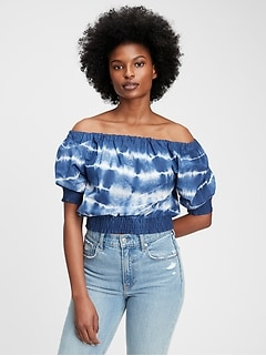 Scoopneck Cropped Top