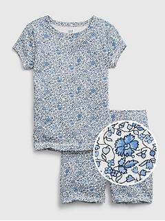 Kids 100% Organic Cotton Floral PJ Set