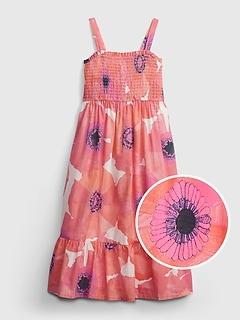 Kids Floral Midi Dress
