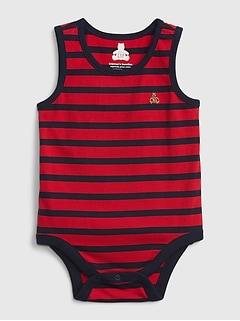 Baby 100% Organic Cotton Mix and Match Stripe Bodysuit