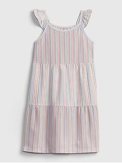 Kids 100% Recycled Polyester Stripe PJ Dress
