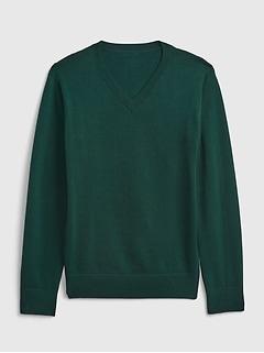 Kids 100% Organic Cotton Uniform Sweater