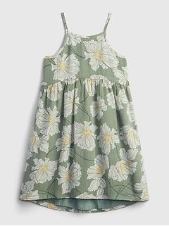 Kids Floral Halter Dress