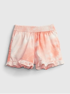 Toddler Ruffle Pull-On Shorts
