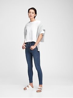 High Rise Universal Jegging With Washwell™