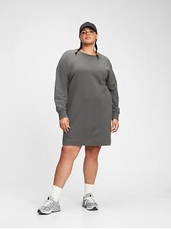 Fleece Sweatshirt Dress