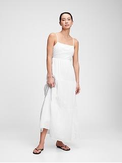 Squareneck Tiered Maxi Dress