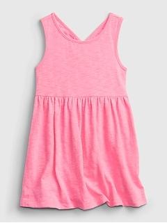 Toddler Cross-Back Skater Dress