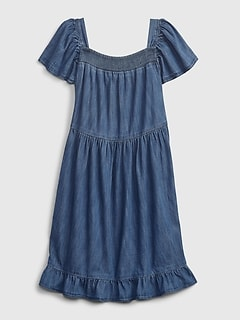 Kids Denim Dress