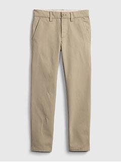 Kids Uniform Skinny Chinos with Gap Shield