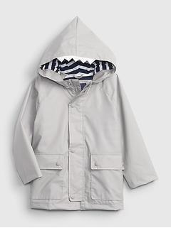 Toddler Shark Lined Raincoat