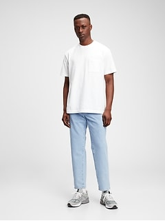 Cropped Straight Jeans with GapFlex