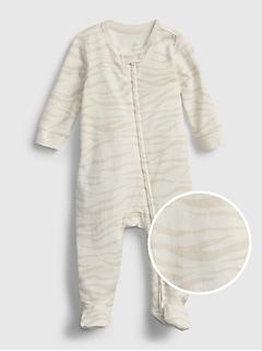 Baby 100% Organic Cotton One-Piece