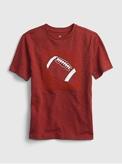 Kids Tentacle Football Graphic T-Shirt