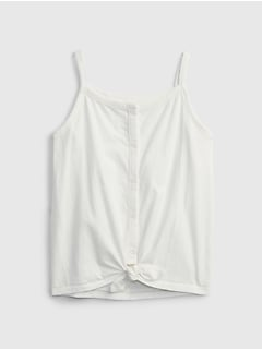 Kids Button-Front Top