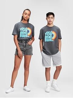 The Gap Collective Pride Teen 100% Organic Cotton T-Shirt