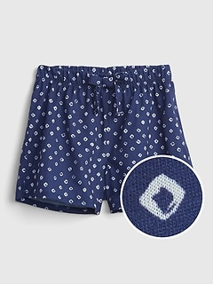 Kids 100% Recycled PJ Shorts